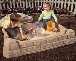 Песочница: летняя школа развития. Песочница в жизни ребенка