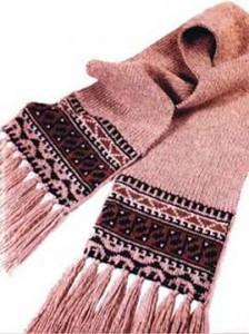 Как связать детский шарф спицами: видео, схема, фото, описание