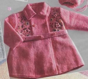 Как связать детское пальто спицами: описание, схема, фото, видео для начинающих