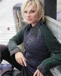 Как связать женский пуловер спицами: схема, фото, описание для начинающих