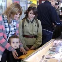 В Казанском аэропорту открылась выставка, посвященная юбилею Победы в ВОВ