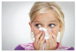 Заложенность носа у ребенка: причины, лечение, капли от заложенности