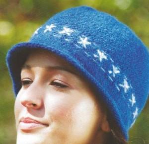 Как связать модную шапочку: описание, схема, фото, видео