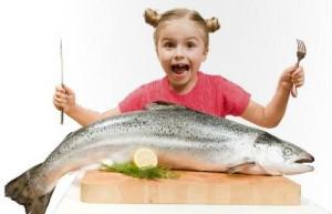 Рыба в рационе питания ребенка 1-3 лет