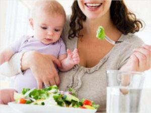 Как похудеть кормящей маме: рацион питания и диета при грудном вскармливании