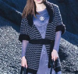 Красивый жакет спицами: описание вязания, фото, схема