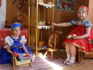 Приобщение детей к народной культуре. Истоки русской культуры