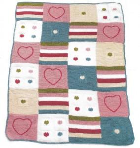 Детское одеяло своими руками: фото, схема