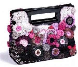 Вязаная сумочка крючком: схема, описание, фото, видео