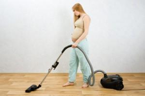 Уборка во время беременности