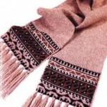 Как связать детский шарф
