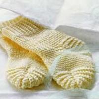 Как связать носки для ребенка