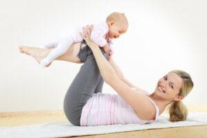 Как восстановить тело после родов
