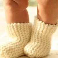 Как связать носочки ребенку крючком