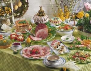 Медики не рекомендуют переедать в день празднования Пасхи