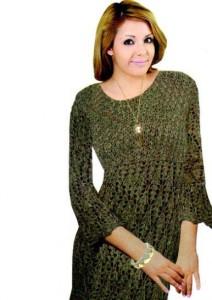 Длинный пуловер спицами: схема, фото, описание вязания