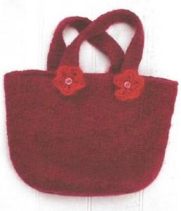 Как связать сумочку спицами: описание, фото, схема, видео для начинающих