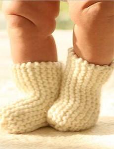Как связать носки ребенку крючком: видео для начинающих, схемы