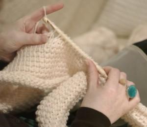 Схемы туниской вязания